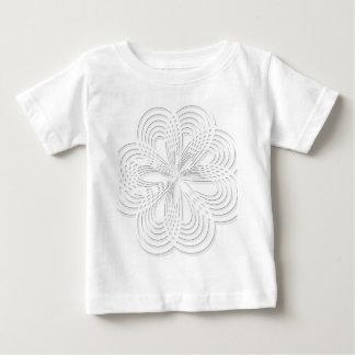 rosette circle design round mark baby T-Shirt