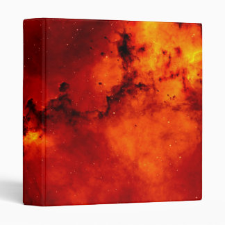 Rosette Nebula Photo Vinyl Binder