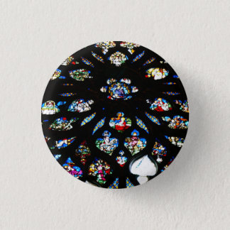 Rosette of Notre-Dame, Paris 1 Inch Round Button