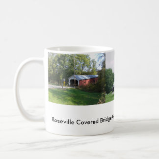Roseville Covered Bridge Mug
