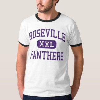 Roseville - Panthers - High - Roseville Illinois T-Shirt