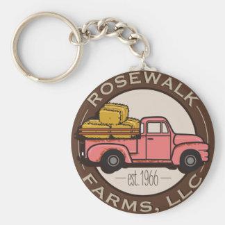 Rosewalk Farms keychain