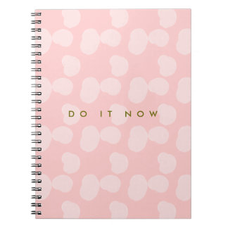"Rosewater Smudges ""Do It Now"" Note Books"