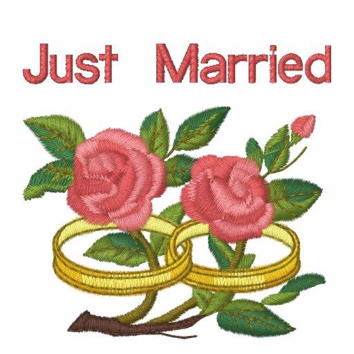 RoseWedRings-Pocket, Just Married