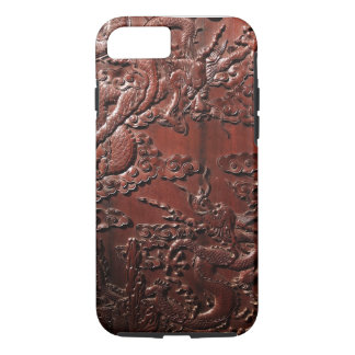 Rosewood Carving With Dragon Pattern iPhone 8/7 Case