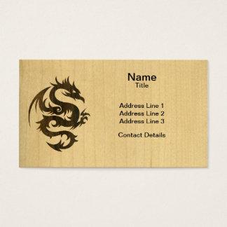 Rosewood Dragon Business Card