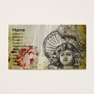 Rosey Dolly Business Card