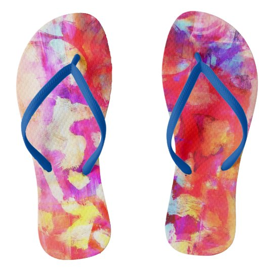 Rosey Flip Flops