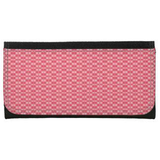 Rosey-Peach-Retro-Mod-Wallet's-Multi-Styles Leather Wallets