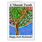 Rosh Hashanah - Blue Sky Tree Of Life Card