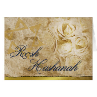 Rosh Hashanah-Flowers Card