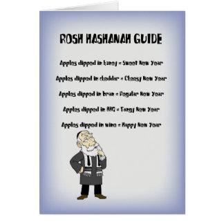 Rosh Hashanah Guide Card