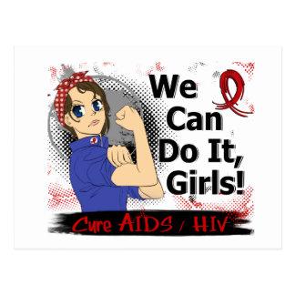 Rosie Anime WCDI AIDS Postcard