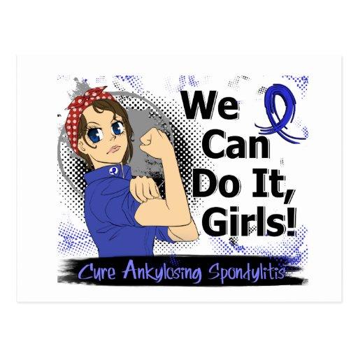 Rosie Anime WCDI Ankylosing Spondylitis Post Card