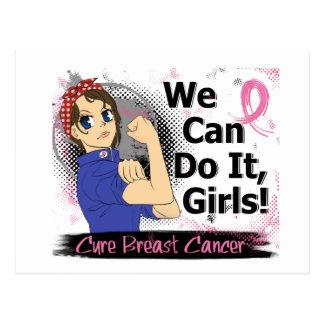Rosie Anime WCDI Breast Cancer Postcard