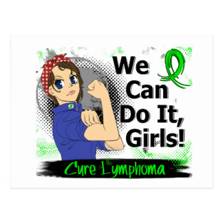 Rosie Anime WCDI Lymphoma Postcard