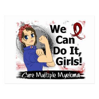 Rosie Anime WCDI Multiple Myeloma Postcard