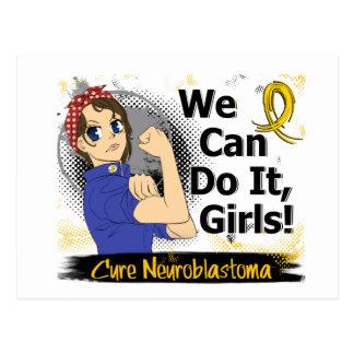 Rosie Anime WCDI Neuroblastoma Postcard