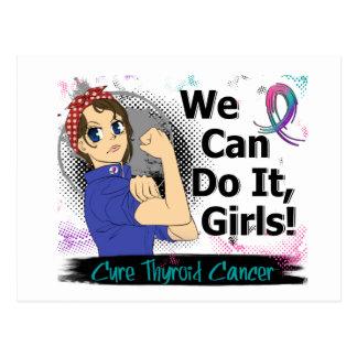 Rosie Anime WCDI Thyroid Cancer Postcard