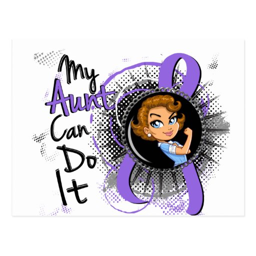 Rosie Aunt Can Do It H Lymphoma Post Cards