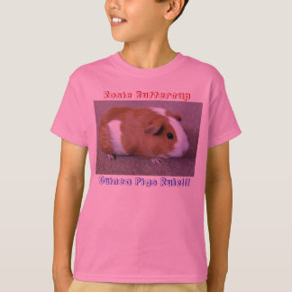 Rosie Buttercup, Guinea Pigs Rule!!! T-Shirt
