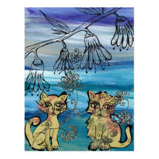 Rosie Kittens Postcard