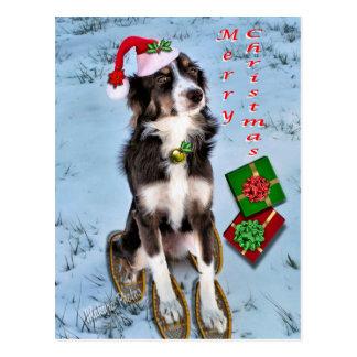 Rosie & Presents-customize Postcard