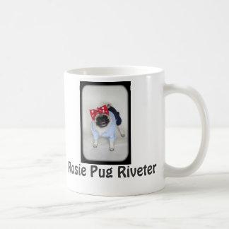 Rosie Pug Riveter Coffee Mug! Coffee Mug