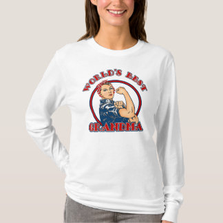Rosie Riveter Best Grandma T-Shirt
