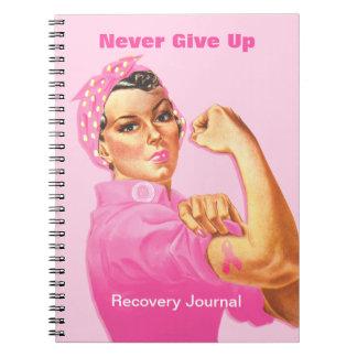 Rosie Riveter Custom Cancer Notebook