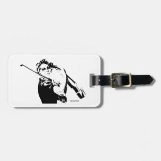 Rosie the Fiddler Violin Case Tag