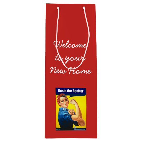 Rosie the Realtor Wine Gift Bag
