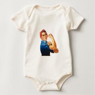 Rosie the Riveter Apparel Line Baby Bodysuit