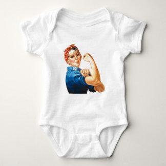 Rosie the Riveter Baby Bodysuit