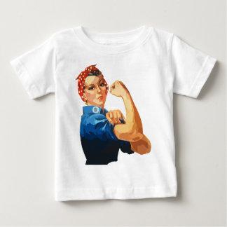 Rosie the Riveter Baby T-Shirt