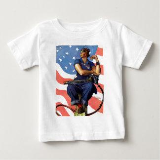 """Rosie the Riveter"" Baby T-Shirt"