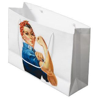 Rosie the Riveter Large Gift Bag