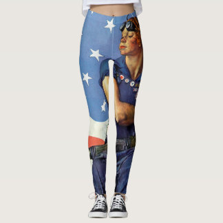 Rosie the Riveter leggings