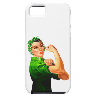 Rosie The Riveter - Military Support iPhone 5 Cases
