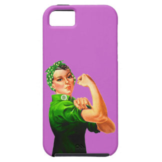 Rosie The Riveter - Military Support iPhone 5 Covers