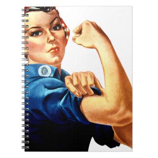 Rosie The Riveter Notebook