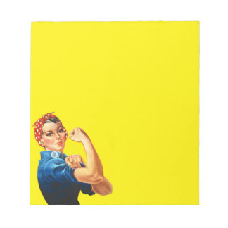 Rosie the Riveter Notepad
