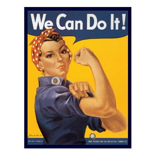 Rosie the Riveter Postcard