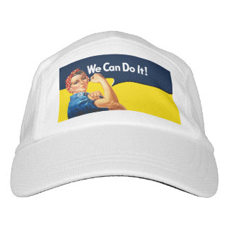 Rosie The Riveter Retro Style Hat
