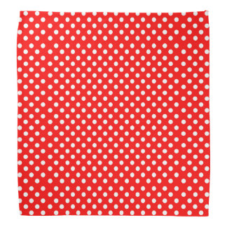 Rosie The Riveter Style Polka Dots Bandanas
