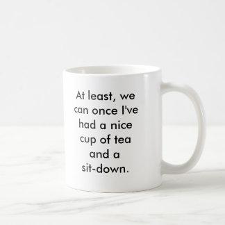 Rosie the Riveter tea break Coffee Mug