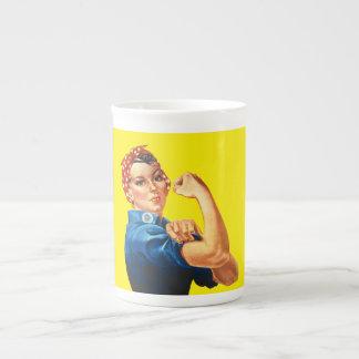 Rosie the Riveter Tea Cup