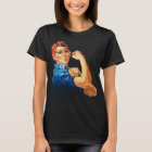 Rosie The Riveter Vintage Feminism T-Shirt