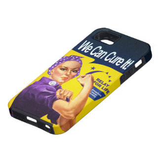 "Rosie the Riveter ""We can cure it!"" iPhone 5 Case"