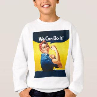 """Rosie the Riveter """"We Can Do It!"""" Sweatshirt"""
